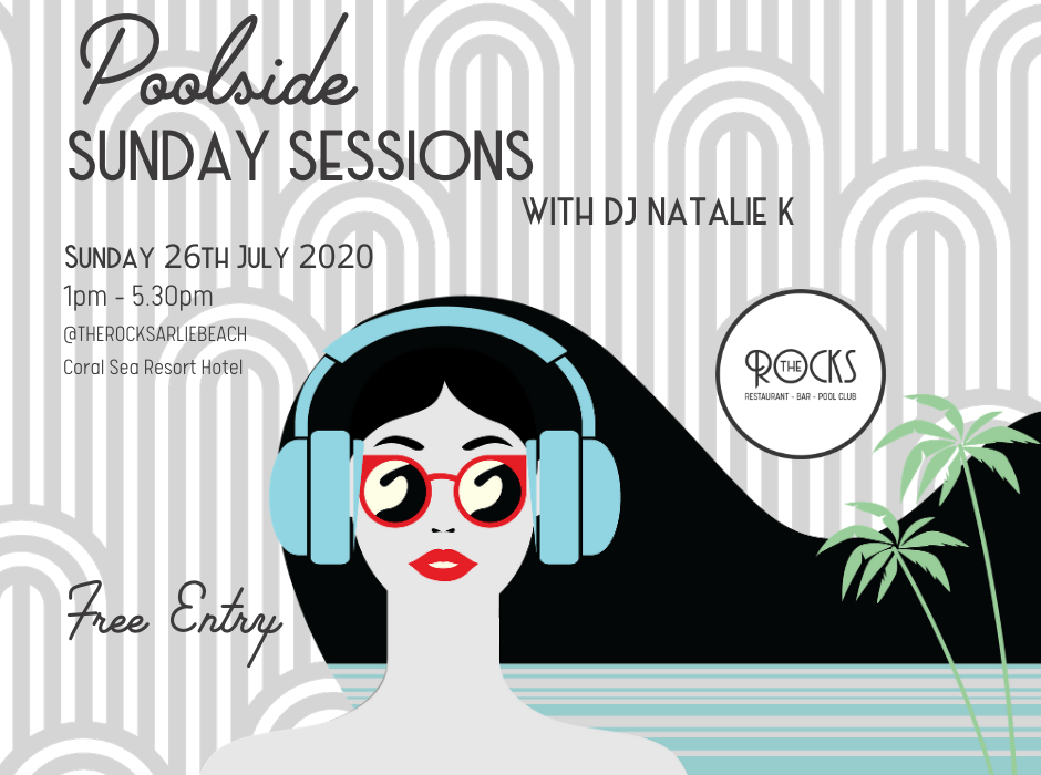 Poolside Sunday Sessions at The Rocks